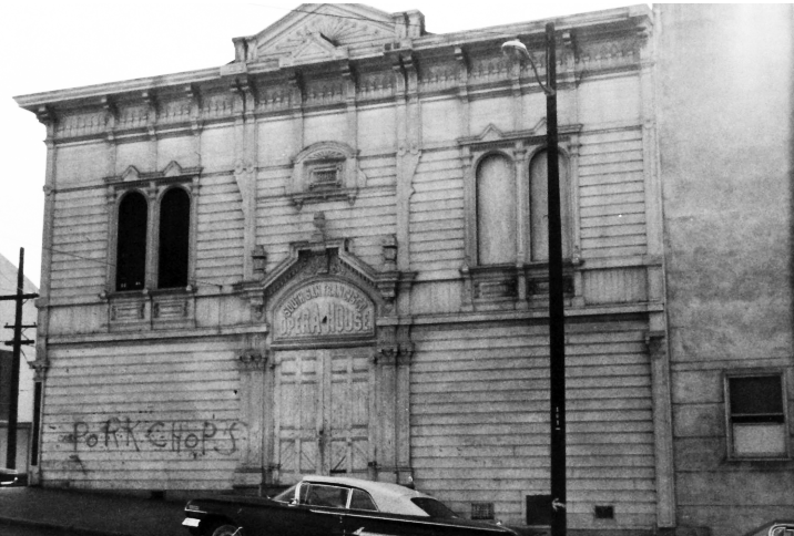 Bayview-Opera-House-run-down-in-1968, City attacks Black culture to erase Blacks from San Francisco, Culture Currents