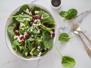 Cafe-Envy-future-menu-item-spinach-salad-w-feta-by-Toni-Zernik-300x225, Owner of Bayview's 'Auntie April's' to debut 'Café Envy', Local News & Views