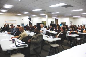 HUD-Sec-3-forum-Kevin-Williams-crowd-SFPUC-Contractors-Assistance-Center-102017-by-Labor-Compliance-Managers-web-300x200, Making sure 'brothers and sisters' attain real jobs and contracts on Alice Griffith Housing Development Project, Local News & Views