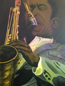 John-Coltrane-art-by-Kevin-Cooper-web-226x300, Thanksgiving on Death Row, Behind Enemy Lines