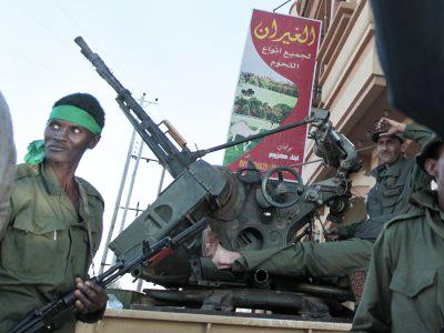 Libya-Black-soldier-in-Misrata-0411-by-AP, Deceptive intelligence: CNN breaks story on slave trade in Libya, World News & Views