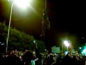 Libyan-rebels-lynch-Black-man-Benghazi-0611-300x225, Deceptive intelligence: CNN breaks story on slave trade in Libya, World News & Views