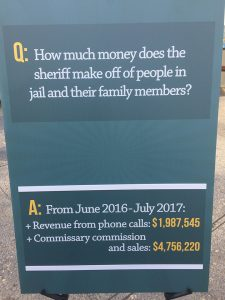 Protest-Alameda-Cty-Sheriff-Ahern-phone-calls-commissary-revenue-112117-225x300, Community members rally to demand audit of Alameda County Sheriff Gregory Ahern, Local News & Views