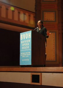 SF-Cannabis-Forum-Sup.-Malia-Cohen-opens-discussion-BV-Opera-House-102117-by-Betty-Rose-Livingston-web-215x300, Community pushes for equity in cannabis licensing, Local News & Views