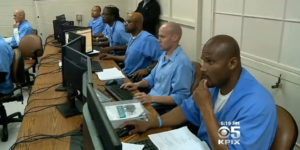 San-Quentin-prisoners-taking-computer-coding-class-Code-7370-from-SF-nonprofit-The-Last-Mile-2014-by-KPIX5-300x150, Crossing the electronic prison firewall, Behind Enemy Lines