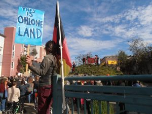 This-is-Ohlone-Land-annual-Black-Friday-protest-Bay-Street-Mall-built-on-shellmound-burial-ground-Emeryville-111717-by-Jahahara-Amen-RA-Alkebulan-Ma'at-web-300x225, Expressing gratitude, Culture Currents