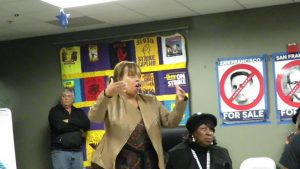 Wealth-Disparities-Gwen-Woods-speaks-townhall-with-DA-120616-300x169, Mario Woods and the movement for justice in our second year, Local News & Views
