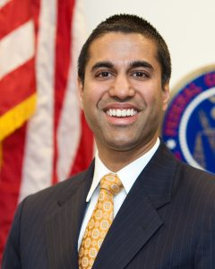 Ajit-Pai-web-240x300, FCC Chair Ajit Pai, enemy of the people, National News & Views