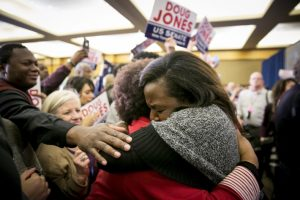 Black-women-celebrate-election-of-Doug-Jones-over-Roy-Moore-in-Alabama-121217-web-300x200, Give Black women credit for #MeToo and the defeat of Roy Moore in Alabama, National News & Views