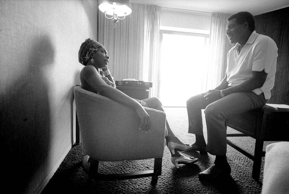 Nina-Simone-Otis-Redding, Otis Redding and Muhammad Speaks, Culture Currents