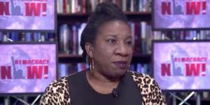 Tarana-Burke-on-Democracy-Now-300x150, #MeToo founder Tarana Burke, Alicia Garza of Black Lives Matter on wave of sexual harassment reports, National News & Views