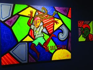 From-the-Hill-and-Beyond'-exhibit-of-Malik-Seneferu's-art-2014-2017-at-Sargent-Johnson-Gallery-by-Wanda-2-web-300x225, Wanda's Picks for January 2018, Culture Currents
