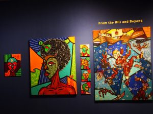 From-the-Hill-and-Beyond'-exhibit-of-Malik-Seneferu's-art-2014-2017-at-Sargent-Johnson-Gallery-by-Wanda-web-300x225, Wanda's Picks for January 2018, Culture Currents