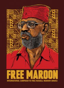 Free-Maroon-art-by-International-Campaign-to-Free-Russell-Maroon-Shoatz-218x300, Seeing the problem, being the solution, making the sacrifice, Behind Enemy Lines