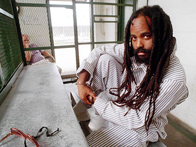 Mumia-on-death-row-at-Graterford-Prison-Pa.-1995-by-April-Saul-Phila.-Inquirer, New appeal to free Mumia! Endorse today!, Behind Enemy Lines