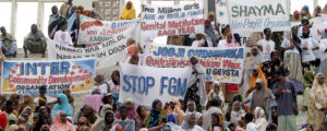 Nigerians-protest-female-genital-mutilation-300x120, Africans organize to end the widespread practice of Female Genital Mutilation, World News & Views