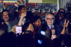 Philly-DA-candidate-Larry-Krasner-supporters-celebrate-primary-victory-0517-by-Michael-Candelori-@ccwirephoto-300x200, How prisoners organized to elect a just DA in Philly, National News & Views
