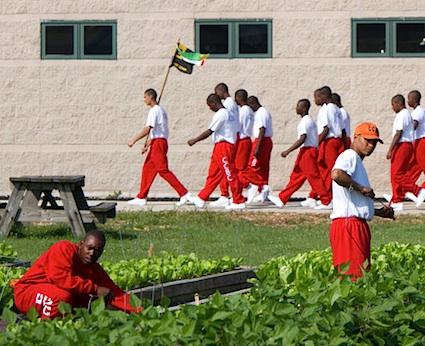 Prison-garden-slave-labor, Redistributing the pain 2018: Shut 'em down!, Behind Enemy Lines