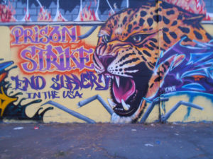 Strike-for-Freedom-Prison-Strike-End-Slavery-in-the-USA-mural-by-X-men-Oakland-0916-web-300x225, Operation PUSH: Prison work stoppage called for MLK Day, Behind Enemy Lines