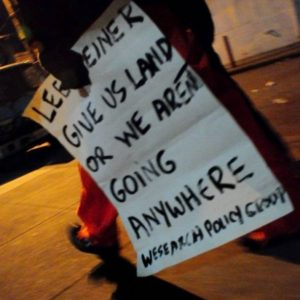 Give-us-land-or-we-arent-going-anywhere-WeSearch-Policy-Group-picket-sign-by-PNN-300x300, I am the 'homeless problem': The case for the Homeless4Mayor Campaign in San Francisco, Local News & Views