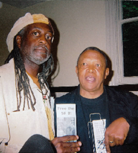 Jahahara-tries-to-persuade-Hugh-Masekela-to-support-SF8-2009-by-Wanda-271x300, Gentrification = genocide!, Culture Currents