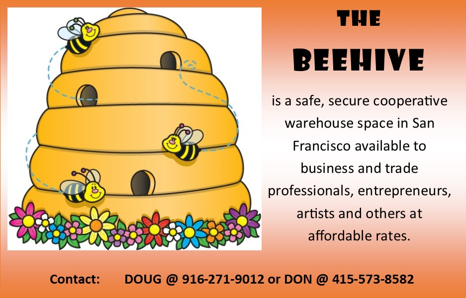 The-Beehive-0318, The BEEHIVE: Safe affordable warehouse space available in San Francisco, For Rent