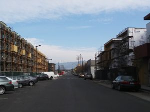 Homeless-encampment-on-Wood-Street-in-West-Oakland-Lower-Bottoms-new-development-creeping-closer-MLK-birthday-011518-by-Wanda-300x225, Wanda's Picks for March 2018, Culture Currents