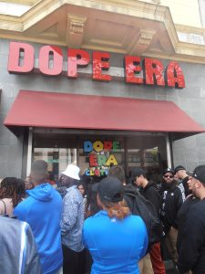 Hundreds-line-up-at-Mistah-FABs-store-and-to-meet-Snoop-0318-by-Jahahara-web-225x300, Celebrating Our Black Super-Heroes!, Culture Currents