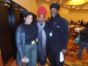 Karen-and-Malik-Seneferu-friend-at-Color-of-Change's-Black-People's-Brunch-Oakland-0318-by-Jahahara-web-300x225, Celebrating Our Black Super-Heroes!, Culture Currents
