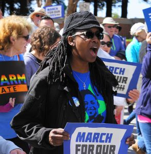 March-for-Our-Lives-Jovanka-Beckles-Richmond-032418-web-295x300, Jovanka will bring people power from Richmond to the California Assembly, Local News & Views