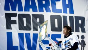 March-for-Our-Lives-Trevon-Tre-Boxley-032418-by-Wash-Examiner-300x170, 'One life is worth all the guns in America': Students demand end to violence at March for Our Lives, National News & Views