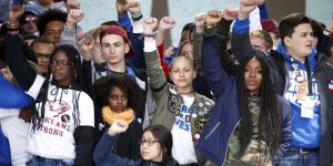 March-for-Our-Lives-speakers-on-stage-032418-by-NBC-News-300x150, 'One life is worth all the guns in America': Students demand end to violence at March for Our Lives, National News & Views
