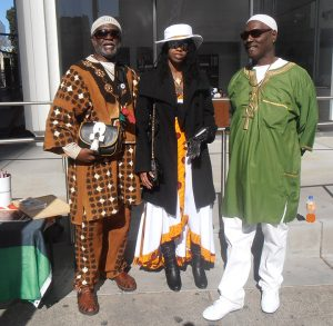 Oakland-Black-Joy-Parade-Jahahara-Sis-Star-Ayanna-Baba-Pierre-at-NCOBRA-Reparations-and-Bay-View-table-022518-by-Jahahara-web-cropped-300x293, Free the land! Commemorating 50 years of the Republic of New Afrika, Culture Currents