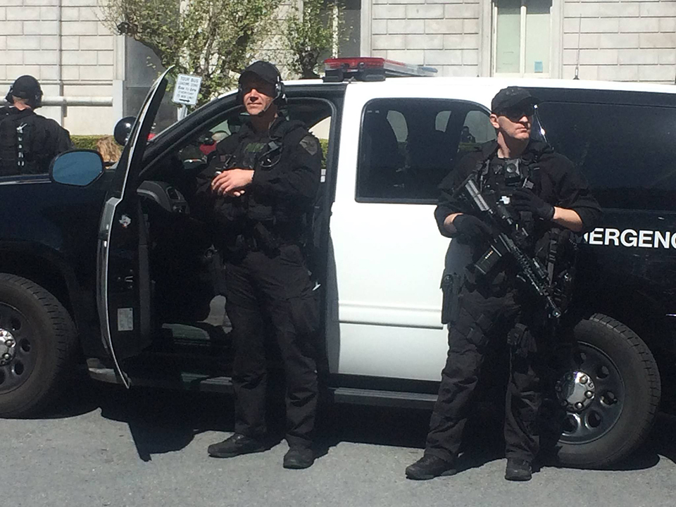 SFPD-monitors-March-for-Our-Lives-032418, March for our lives and the rest of the world's, National News & Views