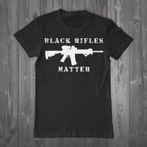 Black-Rifles-Matter'-top-selling-T-shirt-Urban-Shield-Expo-2015-300x300, Victory over military cop convention, Local News & Views