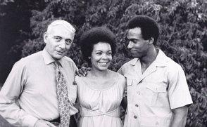 Charles-Garry-Pat-Gallyot-Kiilu-Nyasha-Huey-P.-Newton-1970, The highest salute to the late Black Panther veteran Kiilu Nyasha!, Culture Currents