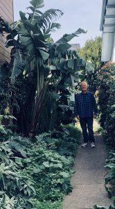 Evan-Prosser-in-his-garden-on-San-Bruno-166x300, Beds 4 Bayview, Local News & Views