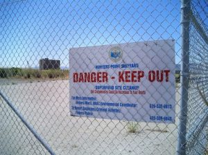 Hunters-Point-Shipyard-danger-sign-300x224, Death and courage at the Hunters Point Shipyard, Local News & Views