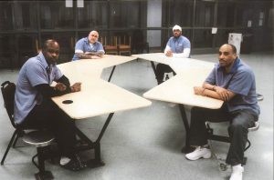 L-R-Bomani-Shakur-Keith-LaMar-Jason-Robb-Siddique-Hasan-Greg-Curry-Lucasville-scapegoats-300x198, Lucasville Rebellion, longest prison 'riot' in history, began 25 years ago, on April 11, 1993, Behind Enemy Lines