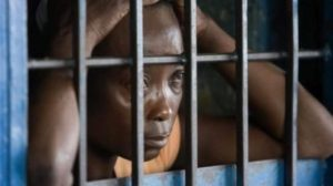 Woman-in-prison-Sierra-Leone-300x168, Amy Buckley: 'Any friend you make will be moved away from you', Behind Enemy Lines
