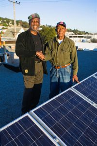 Baba-Jah-Mr-Jackson-after-free-solar-install-at-his-home-in-SF-Bayview-Hunters-Point-2008-web-200x300, VICTORY! Some Critical WINS for Afrikan People, Culture Currents