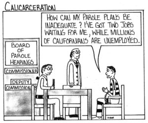 Calicarceration-Parole-Plans-Inadequate-art-by-Marcus-Bedford-Jr-web-300x249, Too many parole denials at New Folsom, Behind Enemy Lines