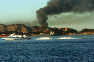 Chevron-Richmond-refinery-fire-toxic-plume-080612-by-Harrison-Chastang-300x199, 'Refinery Town', Local News & Views