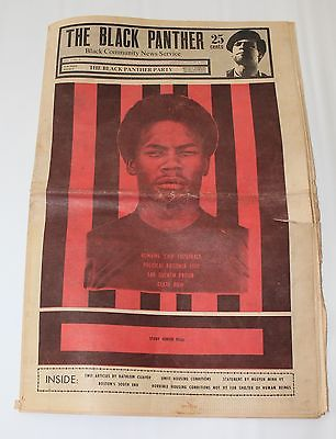 Chip-Fitzgerald-on-Black-Panther-newspaper-cover, Former Black Panther Romaine 'Chip' Fitzgerald will remain behind bars, Behind Enemy Lines
