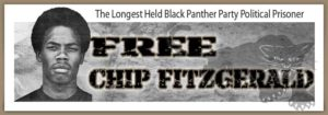 Free-Chip-Fitzgerald-poster-300x105, Former Black Panther Romaine 'Chip' Fitzgerald seeks parole after 49 years behind bars, Behind Enemy Lines
