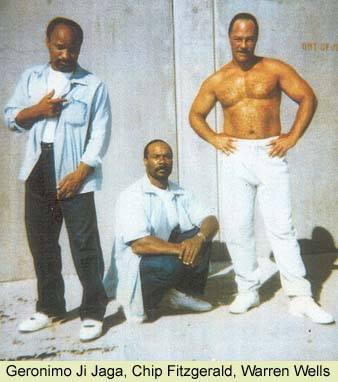 Geronimo-ji-Jaga-Pratt-Romain-Chip-Fitzgerald-Warren-Wells-San-Quentin-yard, Former Black Panther Romaine 'Chip' Fitzgerald will remain behind bars, Behind Enemy Lines