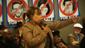 Mario-Woods'-mom-Gwen-Woods-appeals-to-DA-Gascón-at-forum-1217-web-300x168, San Francisco District Attorney George Gascón refuses to charge cops who killed Mario Woods or Luis Gongora Pat, Local News & Views