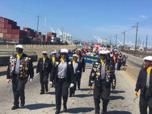 May-Day-march-ILWU-Local-10-Drill-Team-leads-1000-from-8-hr-Port-shutdown-to-Lil-Bobby-Hutton-Park-Sheriff-Ahearn's-office-ending-at-Lake-Merritt-Amphitheater-050118-by-Jack-Heyman-web-300x225, Workers march with pride and power on May Day, International Workers' Day, National News & Views