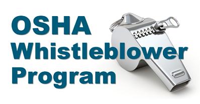 OSHA-Whistleblower-Program-graphic, OSHA attorney Dr. Darrell Whitman: Whistleblower connects the dots, National News & Views