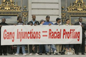 Gang-Injunctions-Racial-Profiling-071207-by-John-Han-FCJ-300x200, More police, criminalization and gang suppression will not end homelessness in San Francisco, Local News & Views